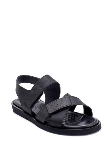 Derimod Erkek Sandalet(434) Casual Siyah